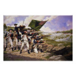 Battle of Long Island by Domenick D'Andrea Print