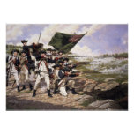 Battle of Long Island, Canvas Art Print