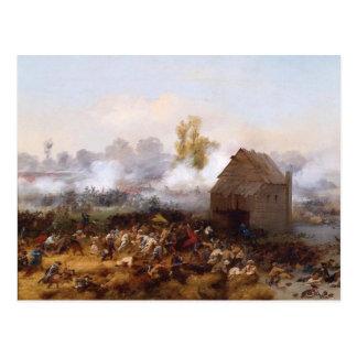 Battle of Long Island Postcard