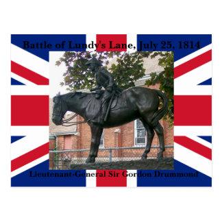 Battle of Lundy's Lane Equestrian Postcard