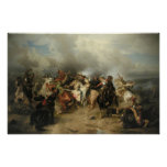 Battle of Lutzen Poster