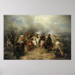 Battle of Lutzen Print