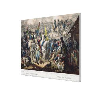 Battle of Marengo 14th June 1800 Canvas Print