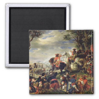 Battle of Marseilles, 4th October 1693, 1837 Magnet