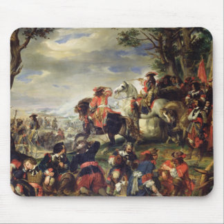 Battle of Marseilles, 4th October 1693, 1837 Mouse Pad