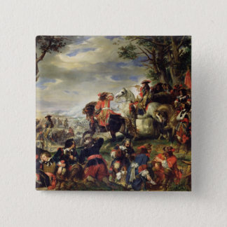 Battle of Marseilles, 4th October 1693, 1837 Pinback Button