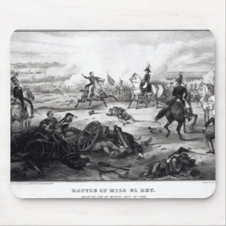 Battle of Mill El Rey Mouse Pad