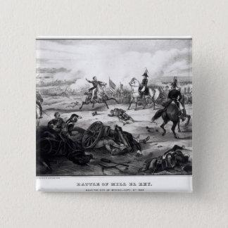 Battle of Mill El Rey Pinback Button