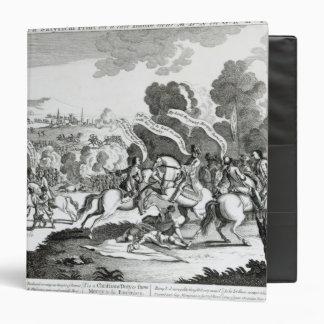 Battle of Minden, 1st August 1759 Vinyl Binder