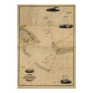 Battle of Mobile Bay Poster