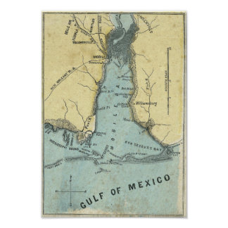Battle of Mobile Bay Print