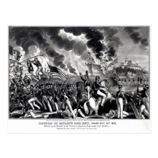 Battle of Molino del Rey Postcard