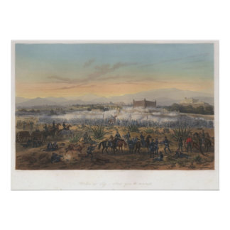Battle of Molino del Rey Poster