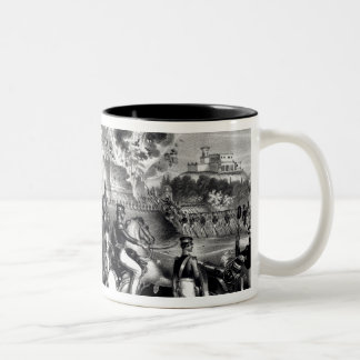 Battle of Molino del Rey Two-Tone Coffee Mug