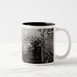 Battle of Monterey Two-Tone Coffee Mug