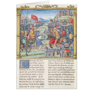 Battle of Montlhery Card