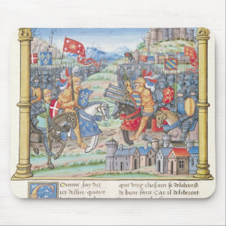 Battle of Montlhery Mouse Pad