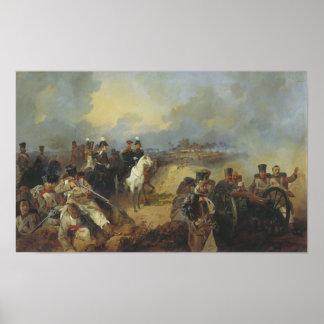 Battle of Montmirael Poster