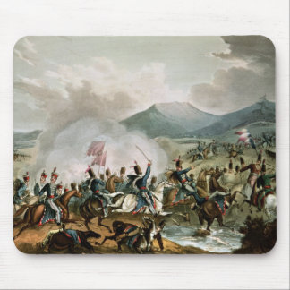Battle of Morales,engraved by Thomas Sutherland Mouse Pad