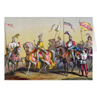 Battle of Morat - Greeting Card