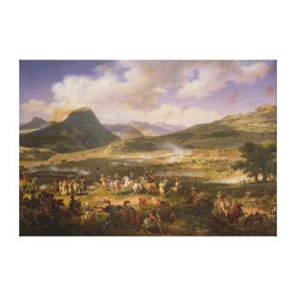 Battle of Mount Thabor, 16th April 1799, 1808 Canvas Print