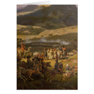 Battle of Mount Thabor, 16th April 1799, 1808 Card