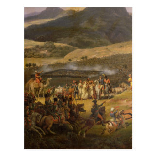 Battle of Mount Thabor, 16th April 1799, 1808 Postcard
