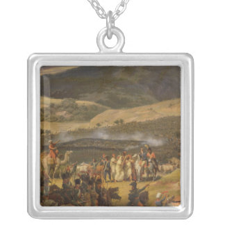 Battle of Mount Thabor, 16th April 1799, 1808 Silver Plated Necklace