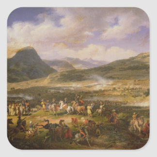 Battle of Mount Thabor, 16th April 1799, 1808 Square Sticker