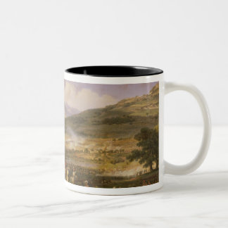 Battle of Mount Thabor, 16th April 1799, 1808 Two-Tone Coffee Mug