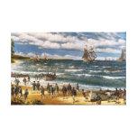 Battle of Nassau, Canvas Art Print Canvas Print