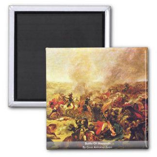 Battle Of Nazareth By Gros Antoine-Jean Magnet