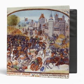 Battle of Neville's Cross from the Hundred Vinyl Binder