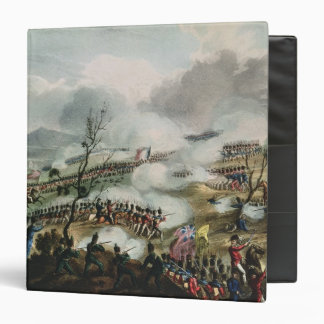 Battle of Nivelle,engraved by Thomas 3 Ring Binder