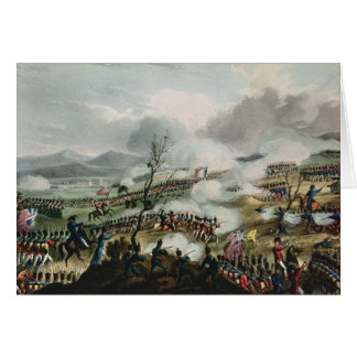 Battle of Nivelle,engraved by Thomas Greeting Card