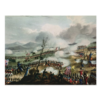 Battle of Nivelle,engraved by Thomas Postcard