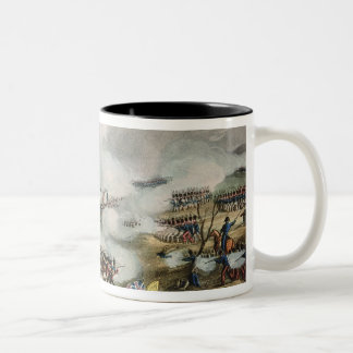 Battle of Nivelle,engraved by Thomas Two-Tone Coffee Mug