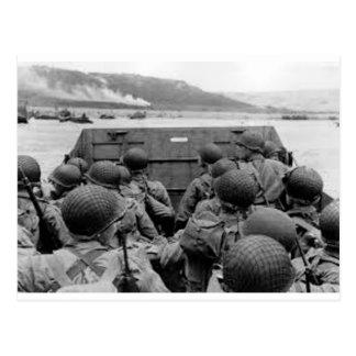 Battle Of Normandy Postcard