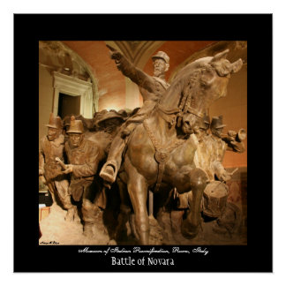 Battle of Novara Poster