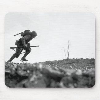 Battle Of Okinawa Painting Mousepad