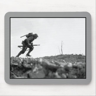 Battle Of Okinawa Painting Mouse Pad