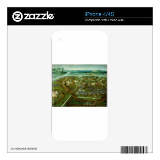 Battle of Pavia by Joachim Patinir iPhone 4 Decals