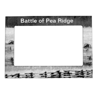 Battle of Pea Ridge Civil War Magnetic Frame