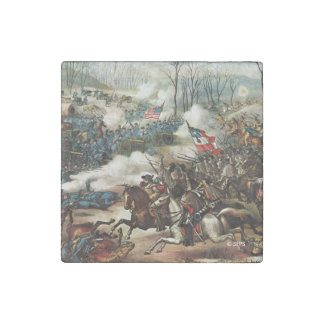 Battle of Pea Ridge Stone Magnet