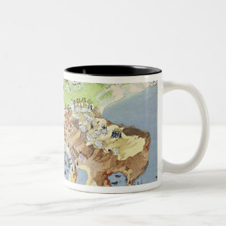Battle of Piraeus, from the Pictorial History of t Two-Tone Coffee Mug