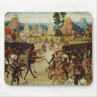 Battle of Poitiers, from Froissart's Chronicle Mouse Pad
