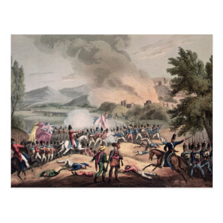 Battle of Pombal, engraved by Thomas Sutherland Postcard