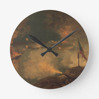Battle of Port Hudson Round Clock