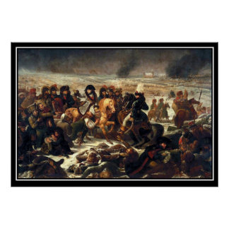 Battle of Preussisch-Eylau, 7 and 8 February 1807 Poster