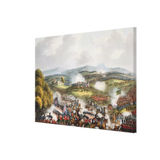 Battle of Quatre Bras, June 16th 1815, from 'The M Gallery Wrapped Canvas